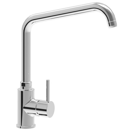 monoblock single lever mixer tap Lean with adjustable spout d24