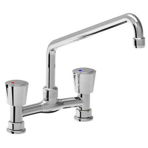 Two holes mixer tap Eco