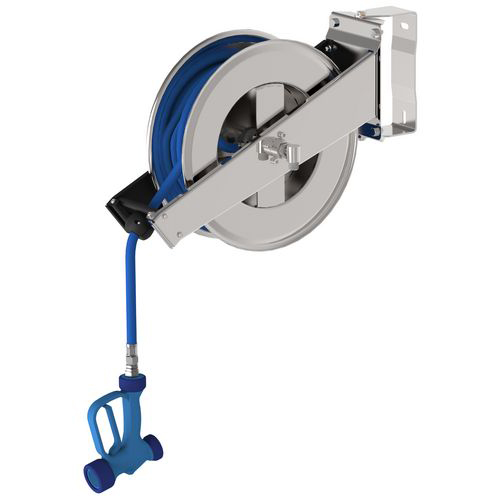 Wall mounted open reel