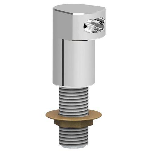 Fixed filler spout with male connector