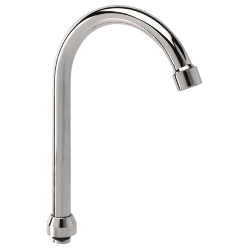 Adjustable P spout Ø18